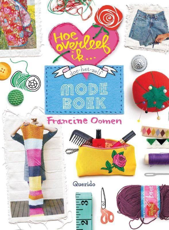 Doe-het-zelf modeboek van schrijfster Francine Oomen