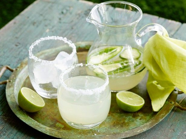 Michael Symon infuses this margarita with a halved jalapeno pepper and thin slices of cucumbers –– the longer it sits, the more its spicy notes and refreshing, savory flavor intensify.