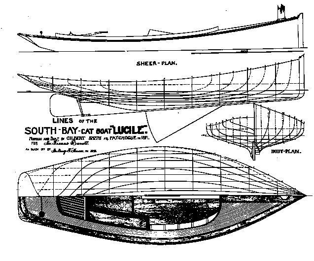 Gil Smith Catboat - Lucille