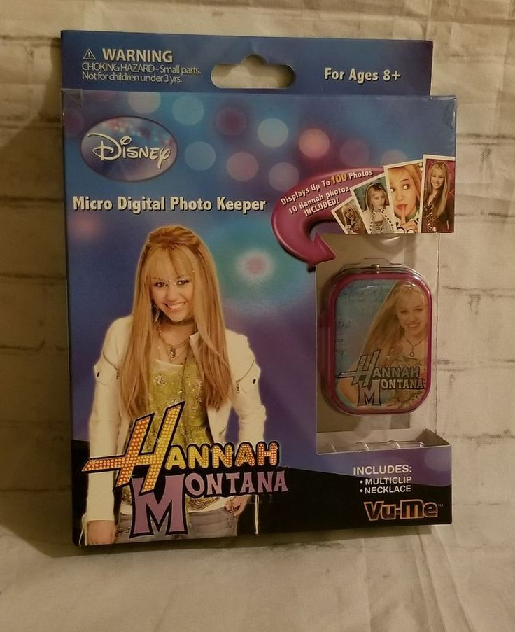 Disney s Hannah Montana NEW Micro Digital Photo Keeper