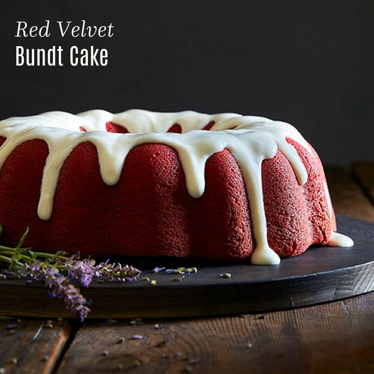 Bundt Cake Recipes Red Velvet