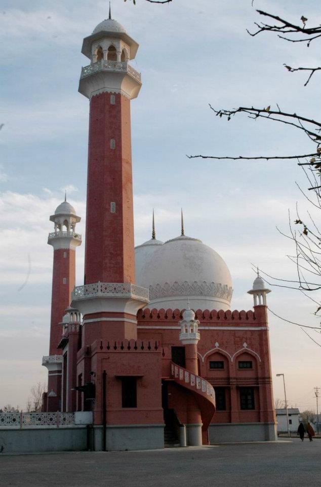 Markazi Jamia Mosque at Wah Cantt, Punjab, Pakistan