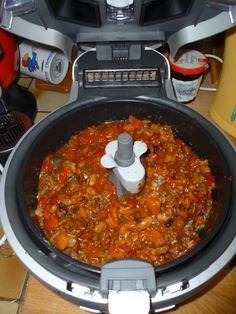 Madhouse Family Reviews !: Tefal Actifry Doesn't Just Do Chips ! - Chilli Con Carne