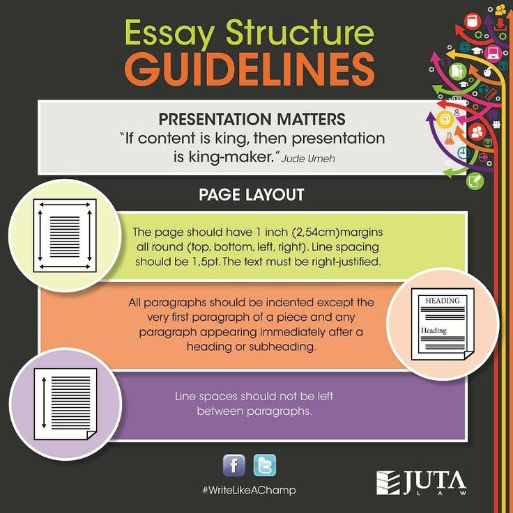 essay fonts sizes
