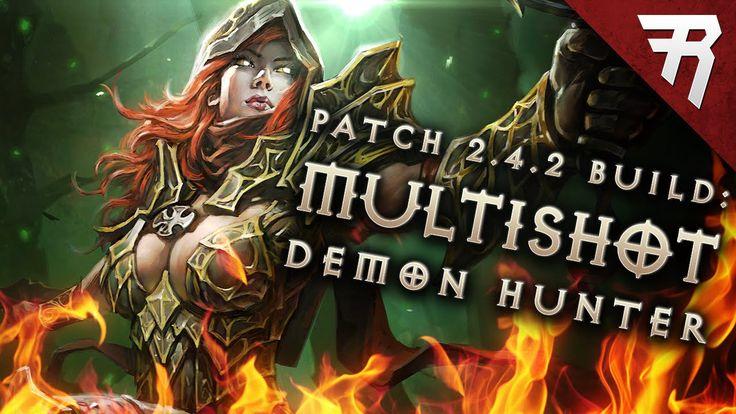 Season  Demon Hunter Multishot Build
