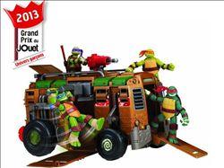Giochi Preziosi Tortues Ninja Camion de combats - 47,48 € livré - Grand prix du jouet 2013