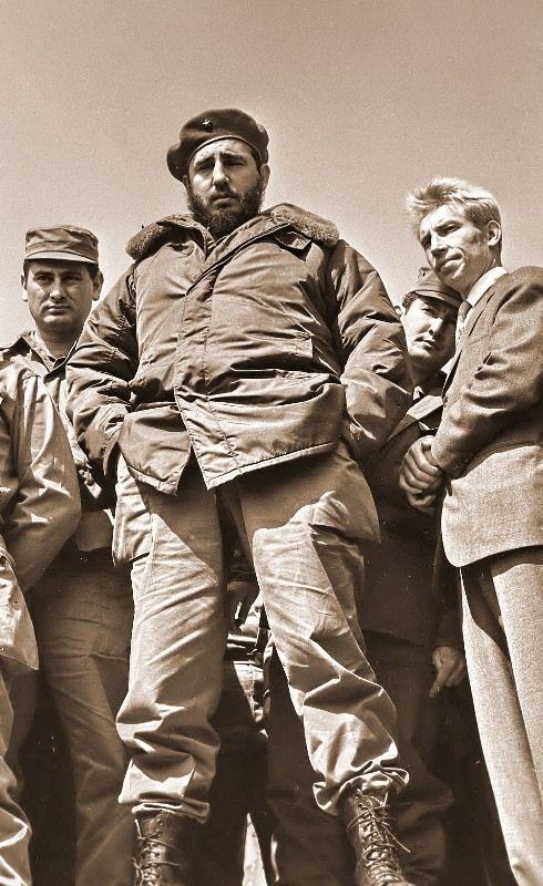Comandante Fidel Castro needs no introduction.