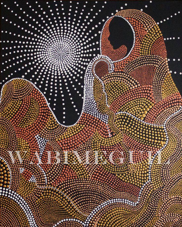 Meditation by Wabimeguil  Custom Prints I Canvas, Acrylic, Framed