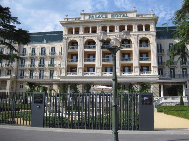 Grandhotel am Strand der Adria: Kempinski Palace Hotel Portoroz, Slowenien