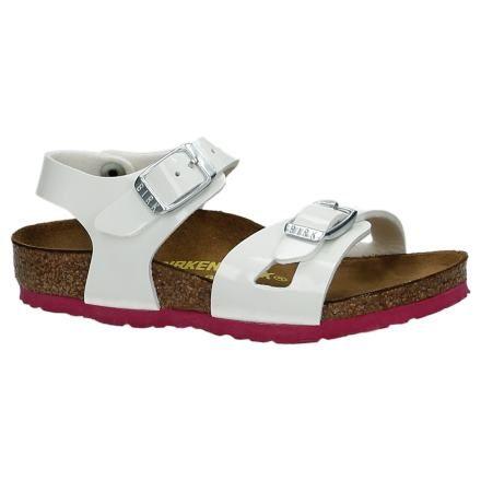 Birkenstock Rio Witte Sandalen