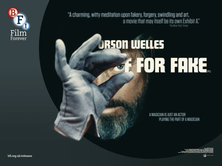 F For Fake (Orson Welles, 1973)
