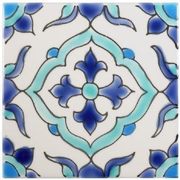 Kitchen tiles: Mediterranean tile - Tile mural - Moorish tile - Moroccan tile - San Francisco