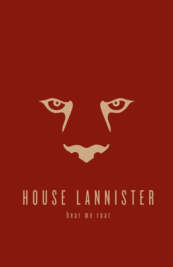 House Lannister Minimalist by ~LiquidSoulDesign on deviantART