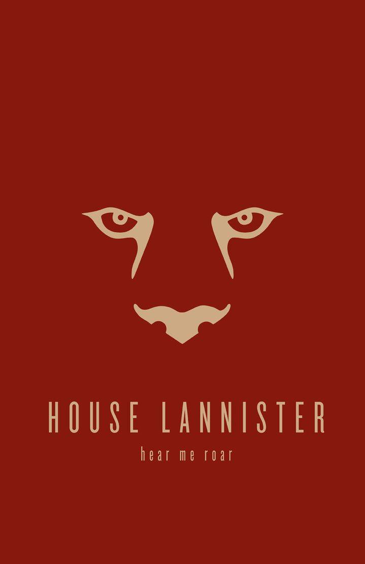 House Lannister Minimalist by ~LiquidSoulDesign on deviantART