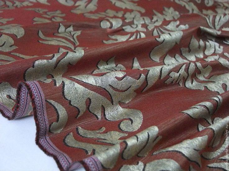 Купить -15% HERMES тафта шанжан, Италия - итальянские ткани, италия, жаккард, костюмная ткань