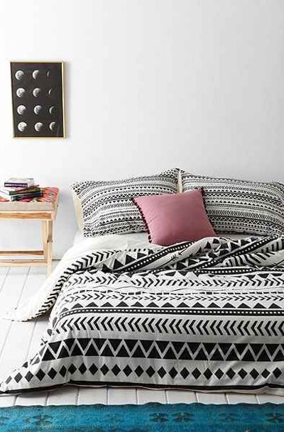 Allyson Johnson for DENY Geo Duvet Cover