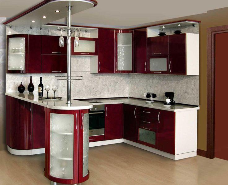 Кухня с барной стойкой. Фото | Cuisine.in.ua