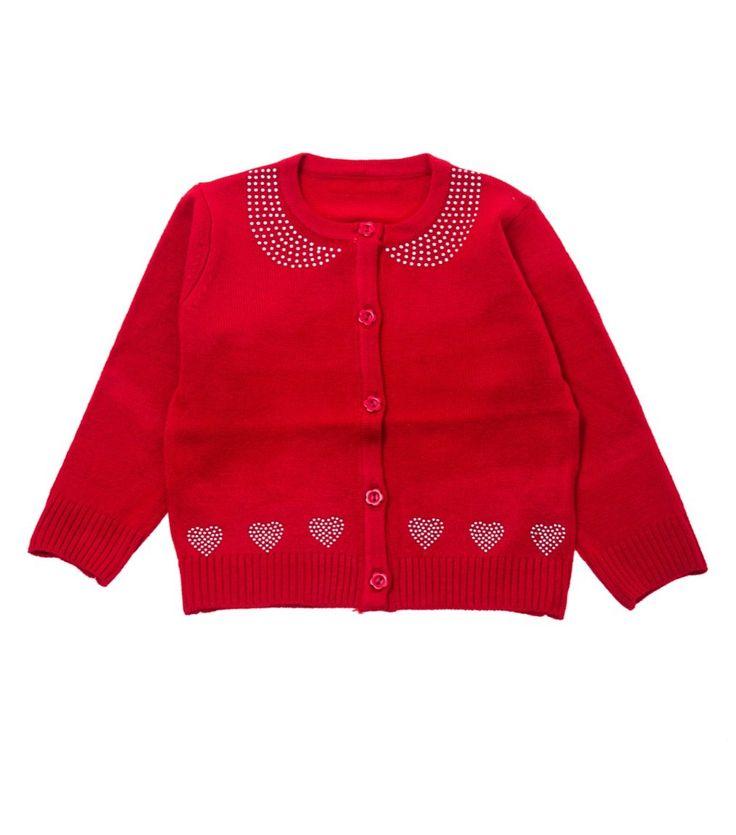 Παιδική εποχιακή ζακέτα «Cute Hearts»  €13,90