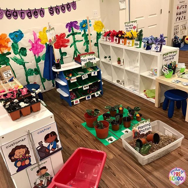 Flower Shop And Garden Shop Dramatic Play Dramatic Play