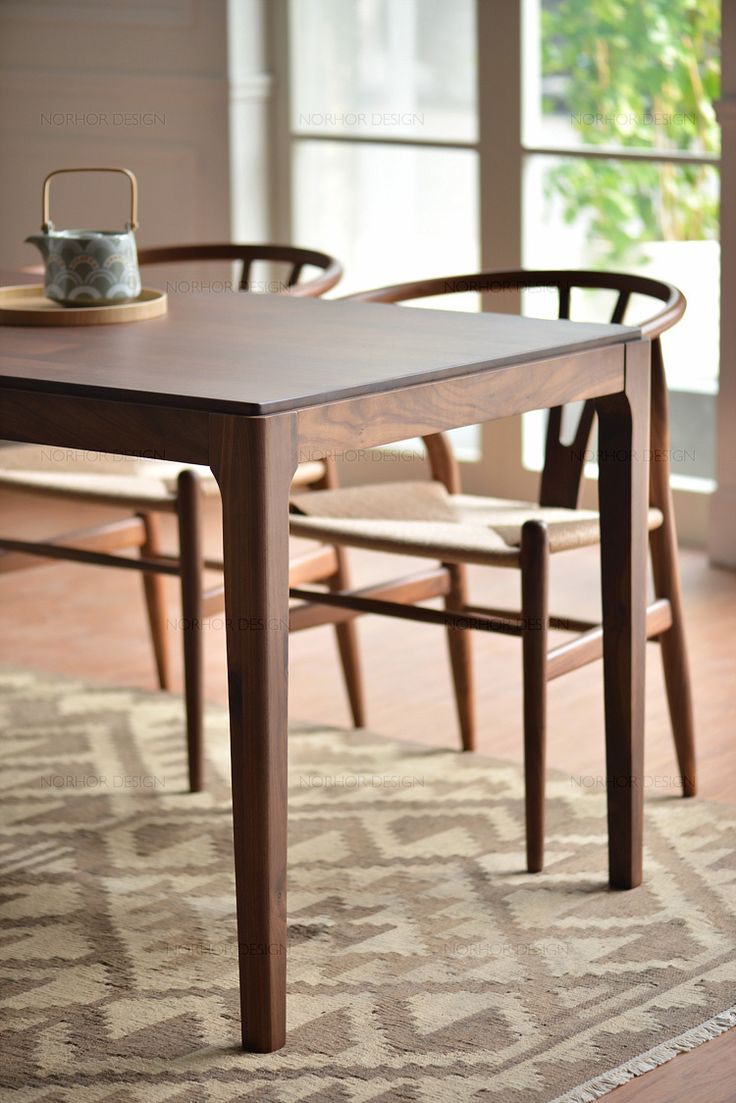 1000 ideas about solid wood dining table on pinterest North american wood furniture