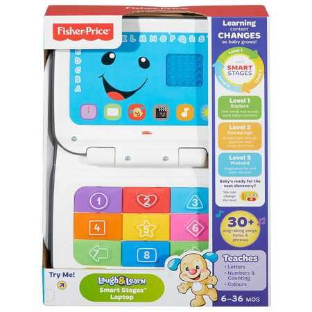 Fisher-Price Laugh and Learn Smart Stages Laptop $39.00 (BIG W)