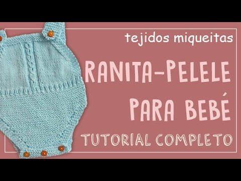 Cómo hacer una ranita-pelele para bebé (o pantalón corto)