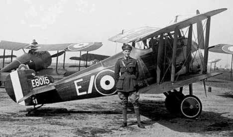 Considered by many to be the best Allied fighter in service at the end of World War I, the Sopwith 7F.1 Snipe was designed by Herbert Smith to replace the aging Sopwith Camel. Custom built around the powerful 230 hp Bentley BR2 engine, the Snipe wasn't much faster than the Camel but it was easier to fly, offered better visibility from the cockpit and had an improved rate of climb.