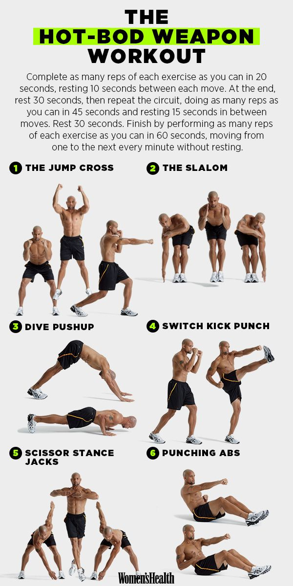 A Hot-Bod Workout From a Hot Trainer http://www.womenshealthmag.com/fitness/insanity-workout