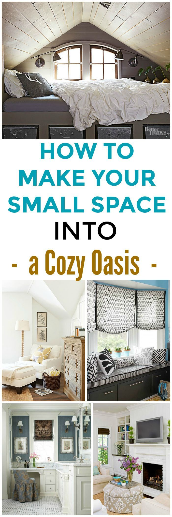 Best 25 cozy small bedrooms ideas on pinterest small for How to make a reading corner in your room
