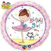 Rachel Ellen Ballerina Foil Balloon – available at www.buildabirthday.co.nz