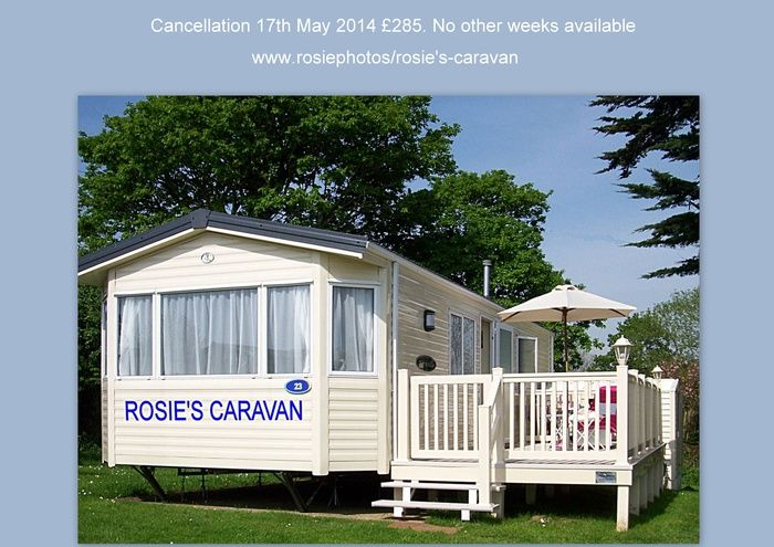 Rosie's Caravan at Looe