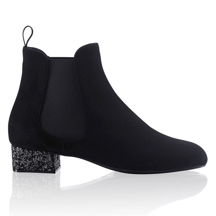 Cameo embellished heel boot at Russell \u0026amp; Bromley | Beautiful boots ...