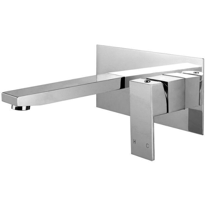 MC01-C meir chrome wall-mounted basin mixer