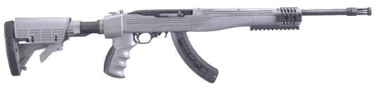 Ruger 10/22 Tactical .22LR Gray 6-POS Stock, 25 Rnd Mag