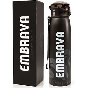 Water Bottle Double Insulated Stainless Steel Sports Drink Gym Active Life 18oz.