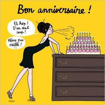 Et hop une bougie de plus ;) Joyeux anniversaire 🍾🍹🎂