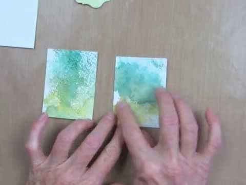 I promised you a video for the cardmaking technique I'm calling Watercolor Smoosh.  You'll see why I called it that when you watch the video.  You'll love this simple technique, and have fun experimenting with it for your handmade cards and paper craft projects. www.stampingmadly.com