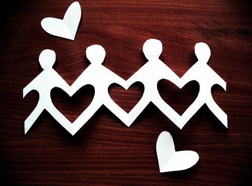 Heart Paper Chain Craft