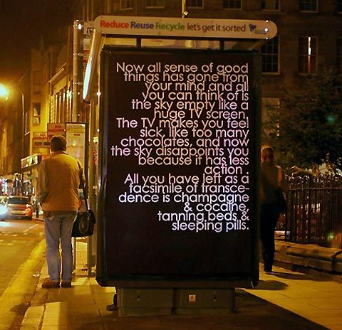 Robert Montgomery - now all sense of good things has gone