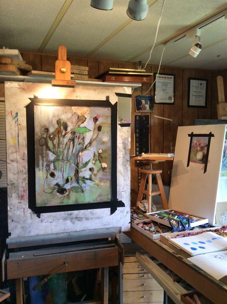 227 Best Workspace Painters Studio Images On Pinterest