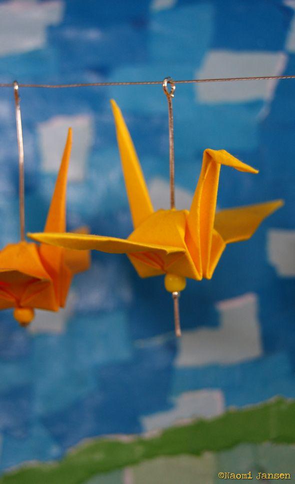 7) Yellow Bird, Blue sky