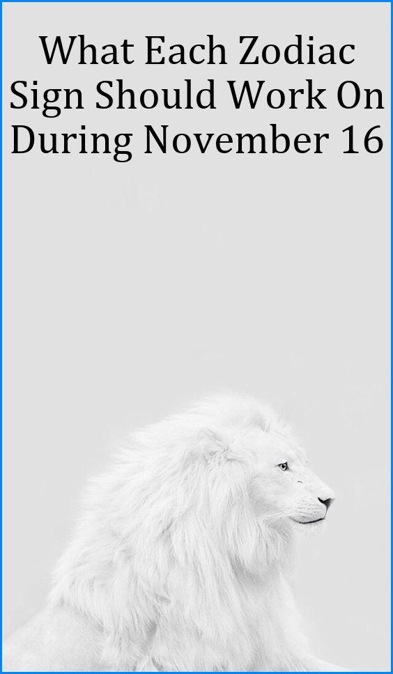 november 16 2019 horoscope