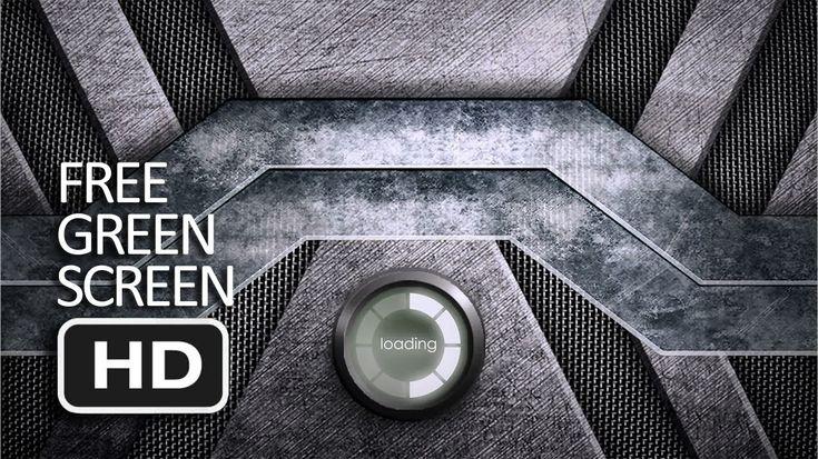 Free Green Screen - Mechanical Gate (Transition)