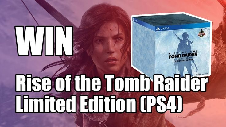 Win Rise of the Tomb Raider Collector's Edition (PS4) - Prijswinnaar is ...