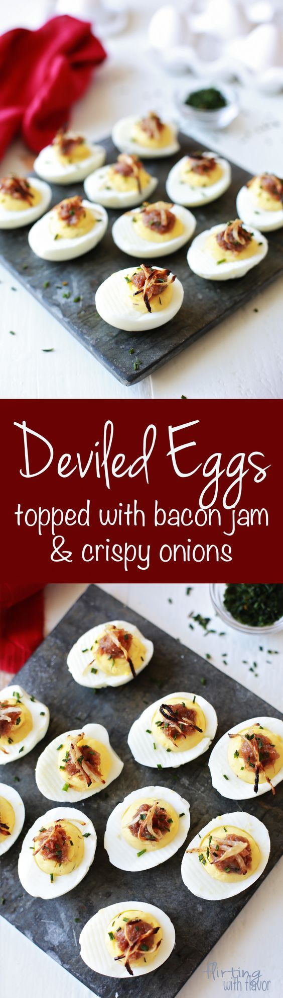Best Deviled Eggs ever! I made these for a party and they were gone before we to the party. lol! Hubby and I couldn't stop eating them.