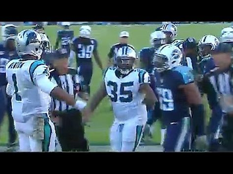 Cam Newton Pisses Off Opponents with Touchdown Dance - YouTube