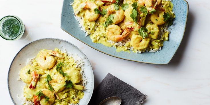 No matter what food is cooked in it or what spices are added, coconut milk never loses its distinct sweet flavor. Instead, it enriches all the other flavors. In this dish from Kerala, a state on the southwestern coast of India, fresh juicy shrimps are gently poached in herb-laced coconut milk. The spicing here is intentionally kept very subtle, so that the natural flavors of the shrimp and the coconut milk can be relished to their fullest. Yerra Moolee, with its shimmering ivory-white sauce…