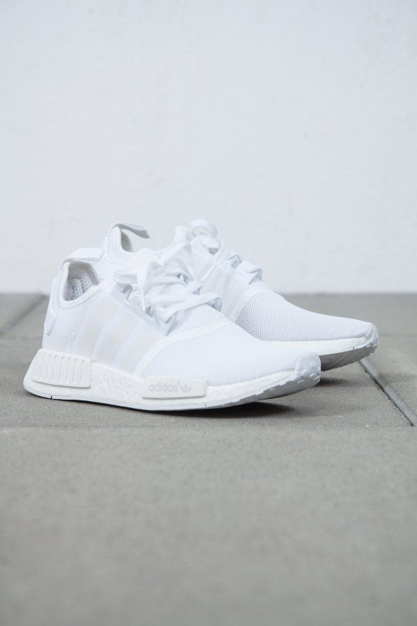 adidas Originals NMD_R1 – Adidas White Sneakers – Latest and Fashionable Shoes …   – Shoes