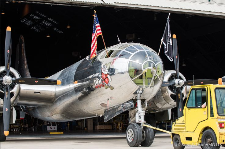 Boeing B-29 Superfortress 'Doc' Welcomed Out in Wichita - http://www.warhistoryonline.com/military-vehicle-news/boeing-b-29-superfortress-doc-welcomed-out-in-wichita.html