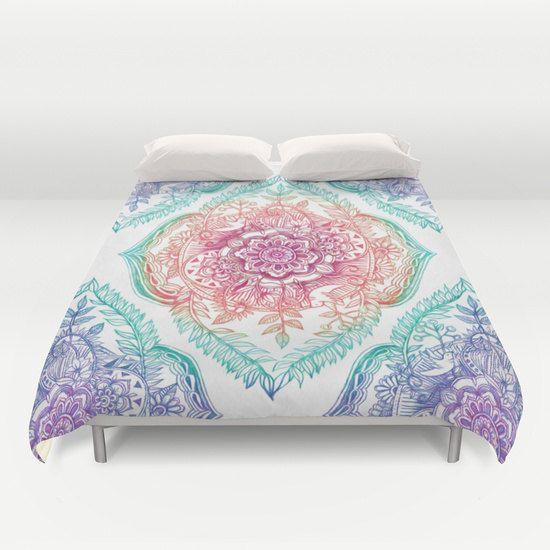 Indian Style Duvet Cover , queen and king duvet cover bedroom bedding bohemian duvet cover